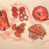 Illustrated recipes. Un progetto di Illustrazione di Alessandra Cesarato - 05.02.2020