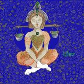 Mi Proyecto del curso: Ilustración del Zodíaco: crea una serie única. A Digital illustration project by Beatrix Prieto - 02.20.2021