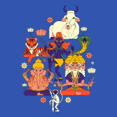Mi Proyecto del curso: Ilustración vectorial: personalidad y color. A Digitale Illustration und Vektorillustration project by Jose Soriano Contreras - 22.02.2021