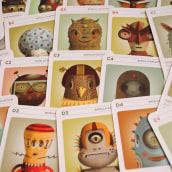 Cards - Galactic Battle. Un progetto di Design, Design di giocattoli, Illustrazione vettoriale e Illustrazione editoriale di Cristian Turdera - 23.02.2021