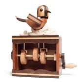 Popoke  autômato aviador, coleção de obras cinéticas.. A Design, Fine Art, Sculpture, and Woodworking project by Popoke Brasil - 02.24.2021