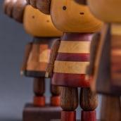 AS TRÊS GRAÇAS.. A Design, Sculpture, and Woodworking project by Popoke Brasil - 02.24.2021