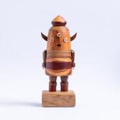 Popoke Monstro Dentinho, 2020. A Design, Fine Art, Sculpture, and Woodworking project by Popoke Brasil - 02.25.2021