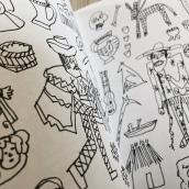 Cosas que no me pude comprar - Macolen. Um projeto de Desenho e Ilustração editorial de Catalina Bu - 10.12.2017