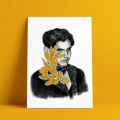 """Ilustración """"Los olivos de Lorca"""". Um projeto de Ilustração, Desenho, Pintura em aquarela, Ilustração de retrato, Desenho de Retrato e Pintura guache de Ana Vázquez Trillo - 26.02.2021"""