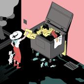 Pandemia - El País Semanal. A Editorial Illustration & Illustration project by Laura Wächter - 12.31.2020