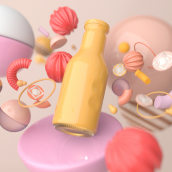 Mi Proyecto del curso: Diseño de sets en 3D para productos. A Design 3D project by Oihana Barbero Moral - 02.28.2021