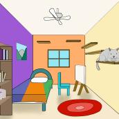 Mi Proyecto del curso: Concept Art: introducción al diseño de escenarios. Um projeto de Concept Art de Enrique Hernandez - 01.03.2021