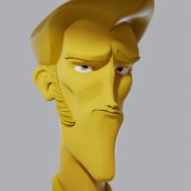 Rarible Man. A Animation, Character Design, Sculpture, and 3D Character Design project by Luis Arizaga - 03.01.2021
