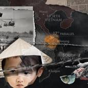 Vietnam War. Um projeto de Motion Graphics, Animação, Direção de arte, Colagem, Vídeo, Animação 2D, Design digital e Fotomontagem de Marta G Nogueira - 04.03.2021
