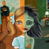 """Muñeca rota"" para Infancias Oprimidas. A Illustration, Bildende Künste und Digitale Illustration project by alicia martorell - 02.03.2021"