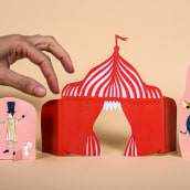 Tres trucos - Editorial Edelvives. Un proyecto de Ilustración infantil de Paz Tamburrini - 02.03.2018