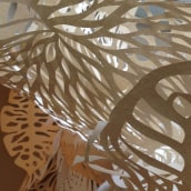 Instalación de papel para casa Deco Cést Moi. Un proyecto de Bellas Artes de Paz Tamburrini - 03.03.2017