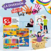Maquetación e ilustración gráfica de folletos. A Advertising, Editorial Design, and Graphic Design project by Vanesa Cano - 05.03.2020