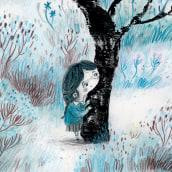 La montaña. Un progetto di Illustrazione, Character Design, Pittura ad acquerello e Illustrazione infantile di Julián David Jiménez Ariza - 03.03.2021