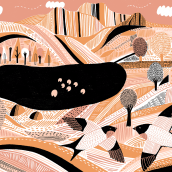 Jigsaw Puzzle. A Illustration project by Kate Sutton - 07.04.2020