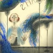 Mi Proyecto del curso: Ilustración expresiva trazo a trazo. Un projet de Illustration, Dessin au cra, on, Dessin et Illustration jeunesse de Daniel Torrent Riba - 05.03.2021