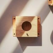 Diseño de productos - Casa de Pájaros Kerf. A 3D, Industrial Design, Product Design, and Design 3D project by Nicolás Robertson - 10.13.2020