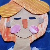 Mi Proyecto del curso: Ilustración de historias con papel. A Illustration, Paper Craft, and Children's Illustration project by Sol Falcón - 03.06.2021