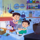 Mi Proyecto del curso: Principios de color para ilustraciones emotivas. Un proyecto de Ilustración infantil de Dannaé Alvarez - 08.03.2021