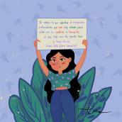 8M no más violencia. Un projet de Illustration de Ana Isabel Castro - 09.03.2021