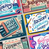 Procreate Products. Un progetto di Educazione, Brush painting , e Lettering 3D di Jimbo Bernaus - 09.03.2021