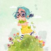 Pears!. Um projeto de Ilustração, Ilustração digital e Ilustração infantil de Gemma Gould - 09.03.2021