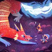 The Monster Project 2019. Um projeto de Ilustração, Ilustração digital e Ilustração infantil de Gemma Gould - 09.03.2021