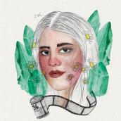 Retrato Ilustrado en Acuarelas III. Un progetto di Illustrazione digitale , e Pittura ad acquerello di Rita Carboni - 15.12.2020