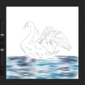 Blue Bird. A Digitale Zeichnung project by Fanchon Fryer - 10.03.2021