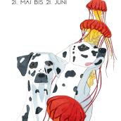 Sternzeichen für ein Modemagazin. Un progetto di Illustrazione di Lena Tamini - 10.03.2021