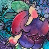 My project in Introduction to Children's Illustration course. Um projeto de Ilustração, Ilustração infantil, Ilustração com tinta e Ilustração editorial de Marcus Rubin - 24.02.2021