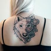 My project in Tattoo for Beginners course. Um projeto de Ilustração e Desenho de tatuagens de Marcus Rubin - 02.03.2021