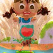 Serenata en Croac Sostenido. A Illustration, Digital illustration, and Children's Illustration project by Orlando Korzo - 03.11.2021