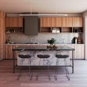 Cocina | make_hb. Um projeto de Arquitetura de interiores de Federico Hernández Barrón - 12.03.2021