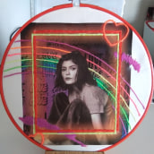 Embroidery on photo. Un projet de Artisanat de Marie ROUSSEL - 14.03.2021
