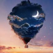 Dream bubble Project commissioned by Adobe. Un progetto di Fotografia digitale di Natacha Einat - 15.03.2021