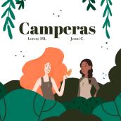 Camperas. Un proyecto de Diseño editorial, Ilustración digital, Dibujo digital e Ilustración editorial de Jenni Conde - 17.03.2021