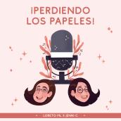 ¡Perdiendo los Papeles! Podcast. Un proyecto de Ilustración, Diseño gráfico, Diseño digital y Dibujo digital de Jenni Conde - 17.03.2021