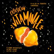 Vitamina E. Un proyecto de Ilustración, Collage, Lettering, Diseño de carteles, Ilustración digital y Lettering digital de Jenni Conde - 17.03.2021