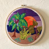 Mi Proyecto del curso: Introducción al bordado botánico. A Embroider project by ainhoa1980 - 03.17.2021
