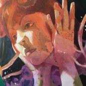 retratos entre medusas. Un proyecto de Pintura al óleo de Gema Alvaro - 18.03.2021