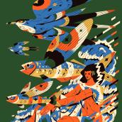 Alados 11. Un projet de Design , Illustration, Beaux Arts et Illustration éditoriale de Profe - 01.03.2021