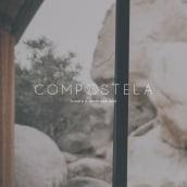 Compostela. Um projeto de Direção de arte, Br, ing e Identidade, Design gráfico e Design de logotipo de Carolina Lopez - 18.03.2018