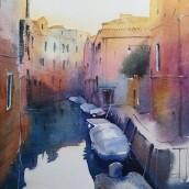 Venice 2.0. Un projet de Architecture, Beaux Arts, Peinture , et Dessin de Ekaterina Chistiakova - 19.03.2021
