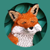 Paper Fox. . A Character Design, Editorial Design, and Editorial Illustration project by Diana Beltran Herrera - 03.20.2021