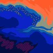 Lampshade . Un proyecto de Diseño, Ilustración, Bellas Artes, Diseño de interiores, Ilustración vectorial, Creatividad, Diseño de moda, Ilustración digital, Diseño digital y Pintura digital de Narjis Zohaib - 20.03.2021
