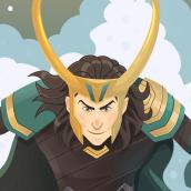 Loki (Six Fan Arts Challenge). Un proyecto de Ilustración, Dibujo, Ilustración digital y Dibujo digital de David Cano Leal - 03.05.2020