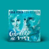 Lyricvideo y portada Fran Perea y Rozalén, Mi Caballito de Mar. Un progetto di Illustrazione, Video, H , e lettering di Koi Samsa - 22.03.2021