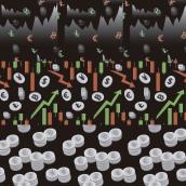 Mi Proyecto del curso: Creación y comercialización de patterns vectoriales. Un projet de Création de motifs de Francisco Javier Zea Lara - 22.03.2021